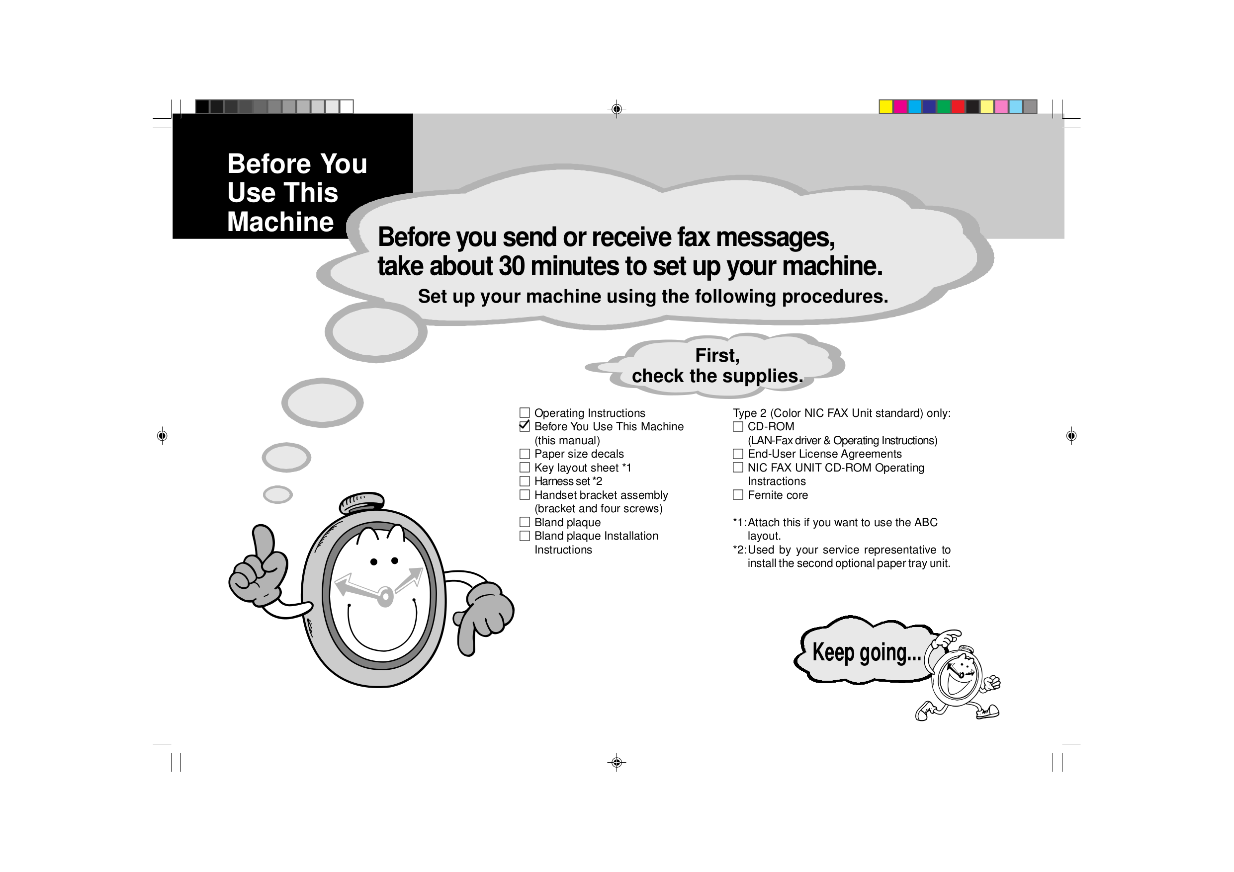 pdf for Ricoh Fax Machine fax4410l manual