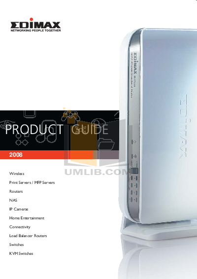 pdf for Edimax Wireless Router BR-6204Wg manual