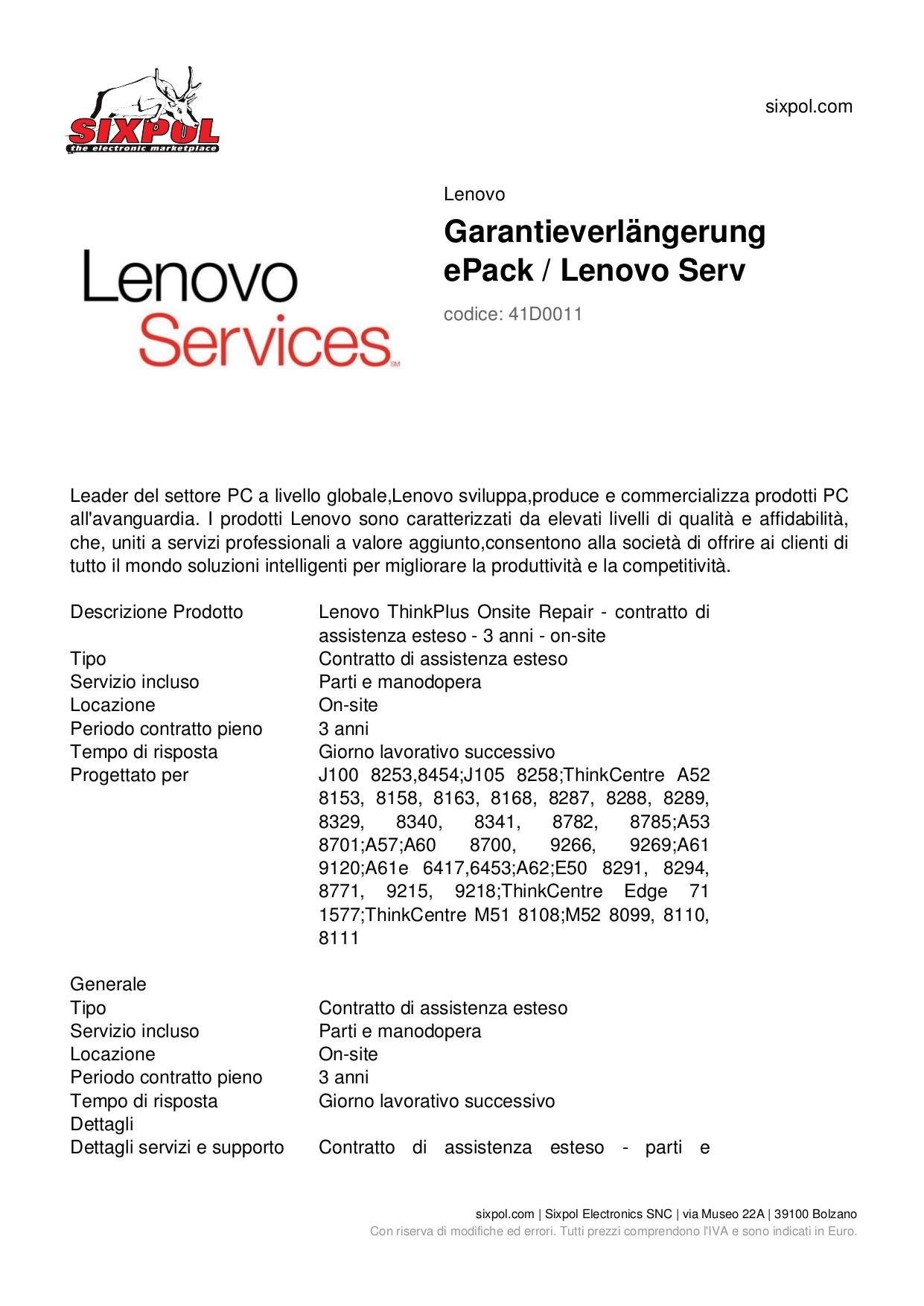 pdf for Lenovo Desktop ThinkCentre A52 8340 manual