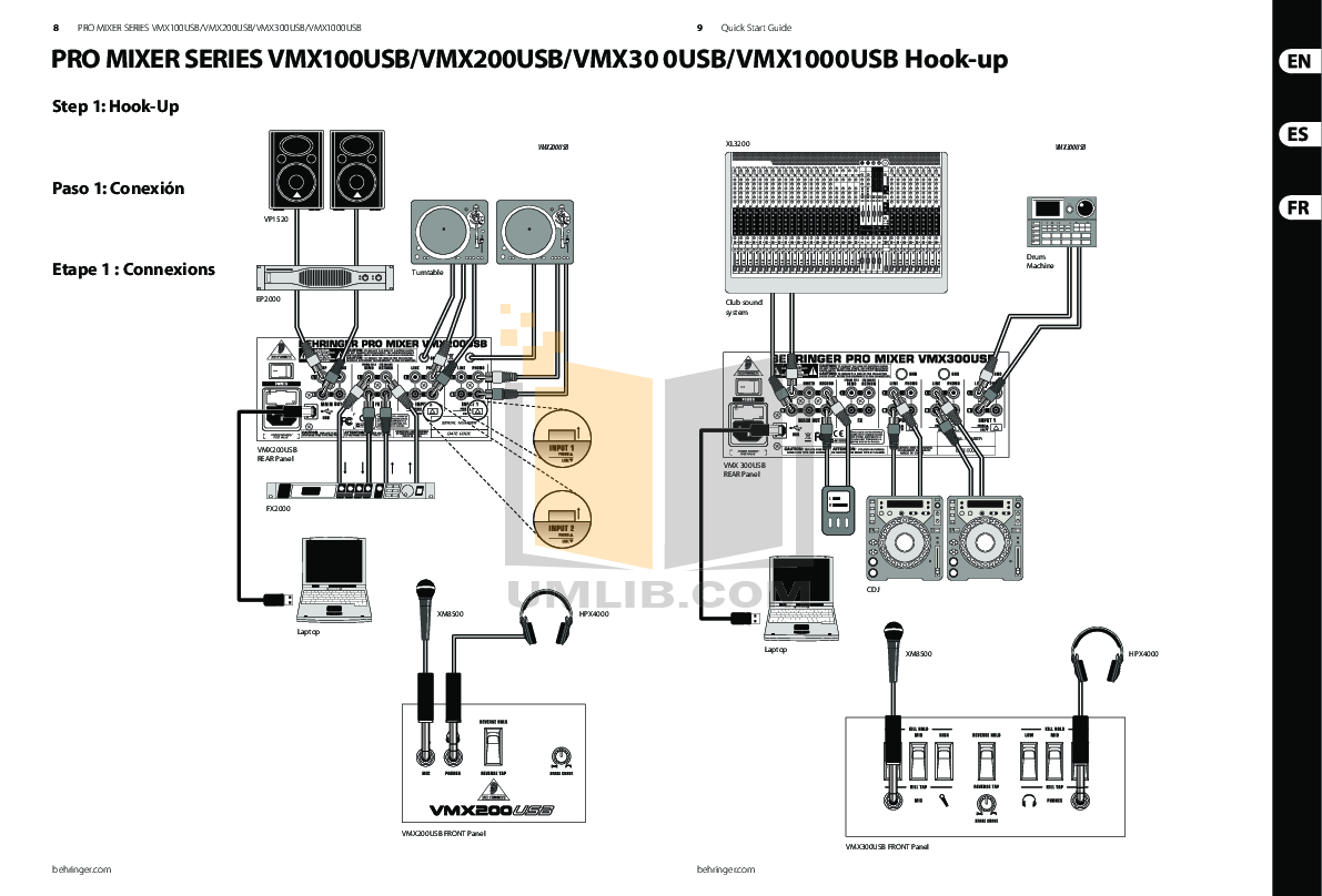 Behringer pro mixer vmx300 user manual pdf download.