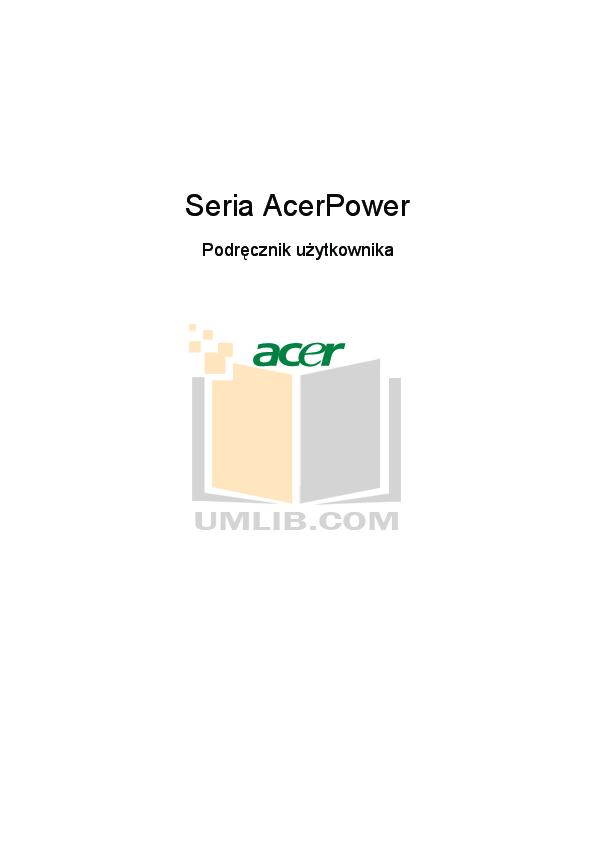 pdf for Acer Desktop AcerPower S260 manual