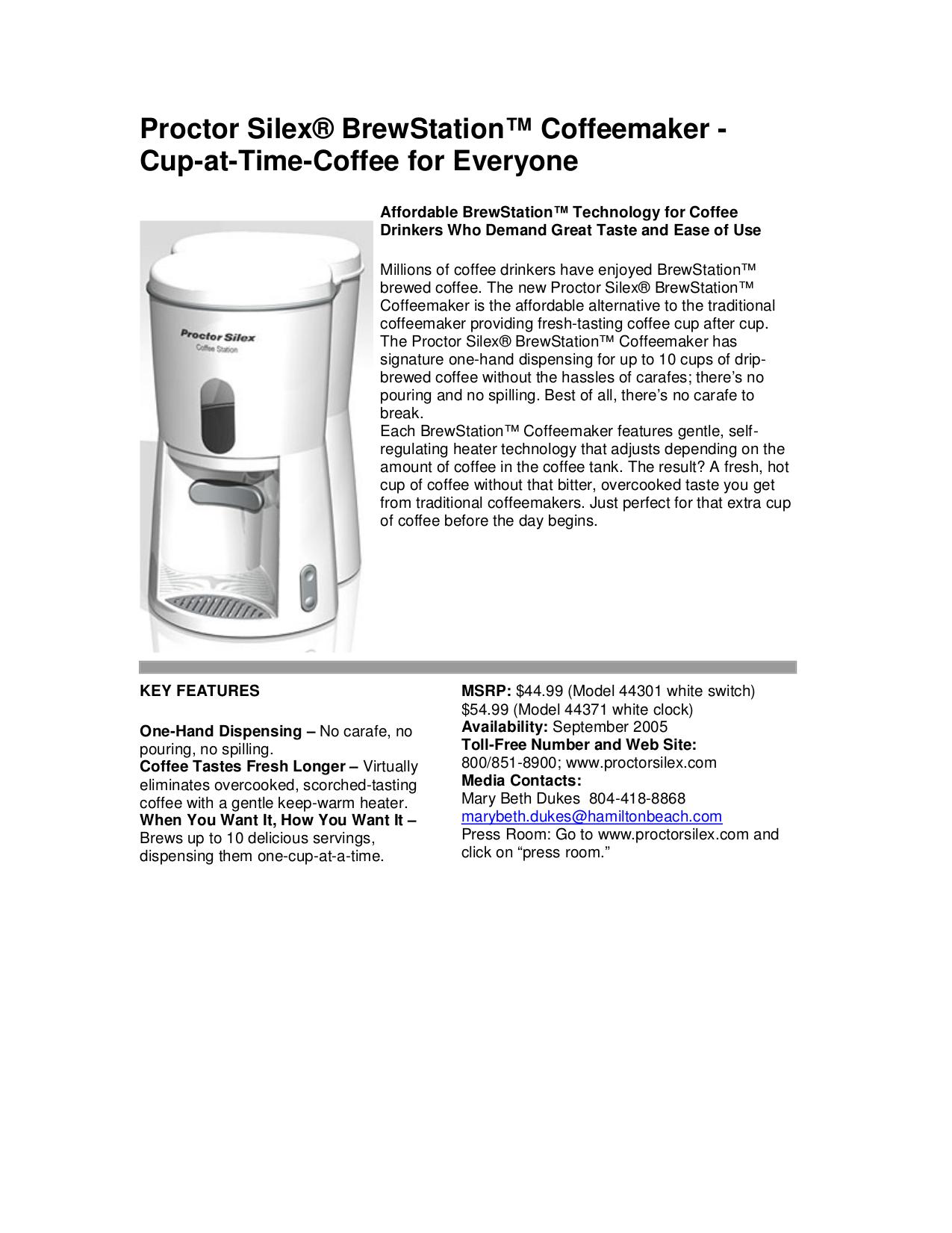 proctor silex coffee maker instructions coffee drinker rh cf jiraygroup com proctor silex coffee maker 45100 manual proctor silex single serve coffee maker manual