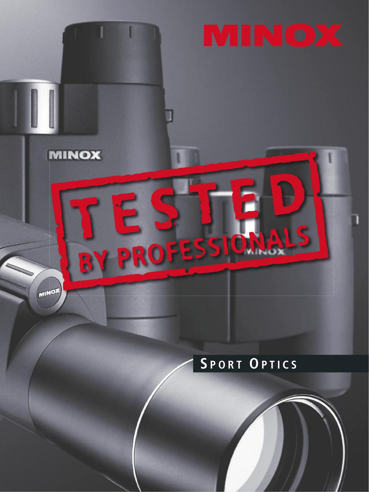 pdf for Minox Binocular NV400 manual