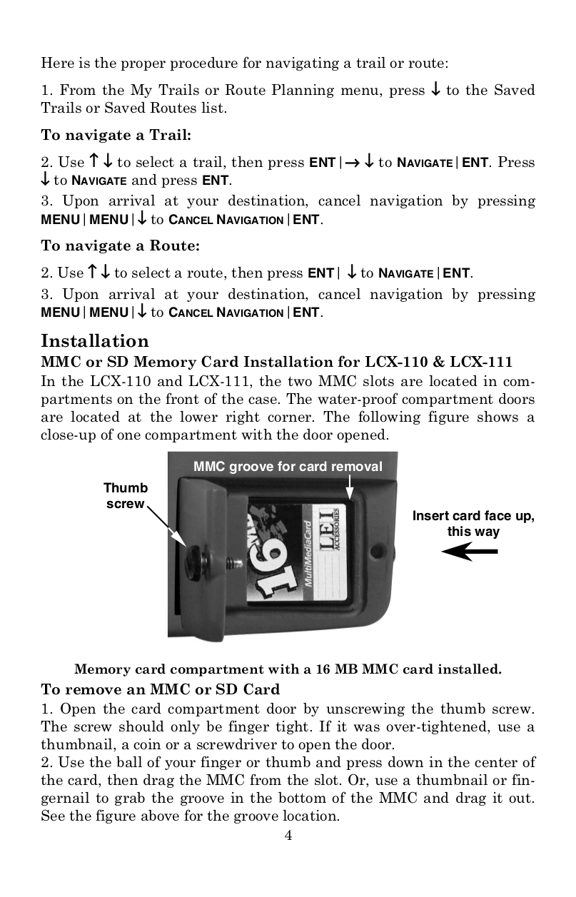 Lowrance GPS GlobalMap 6500C pdf page preview