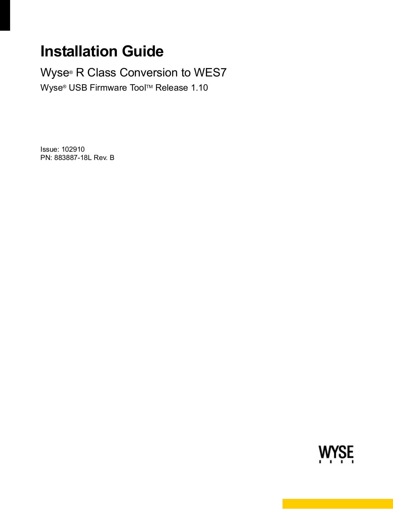 pdf for Wyse Desktop R90L manual