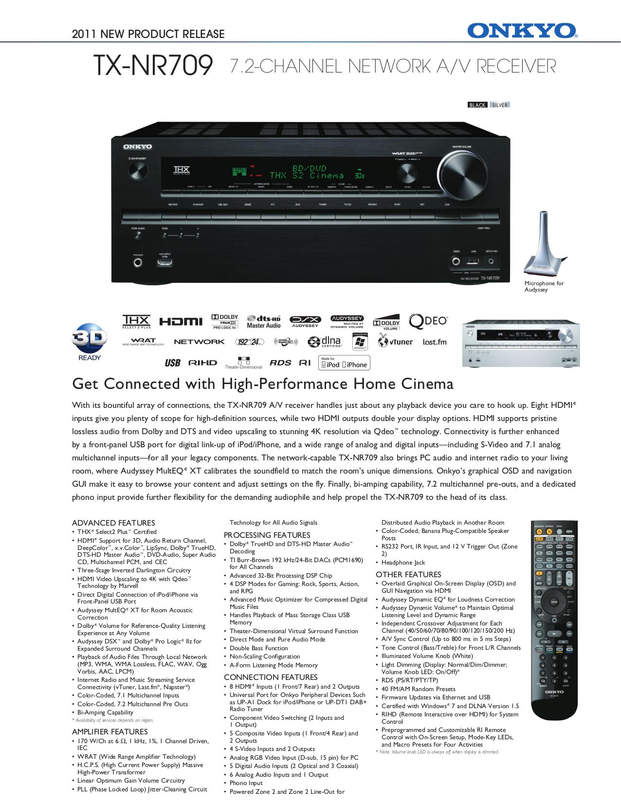 download free pdf for onkyo tx nr709 receiver manual rh umlib com onkyo tx-nr709 service manual onkyo tx-nr709 owners manual