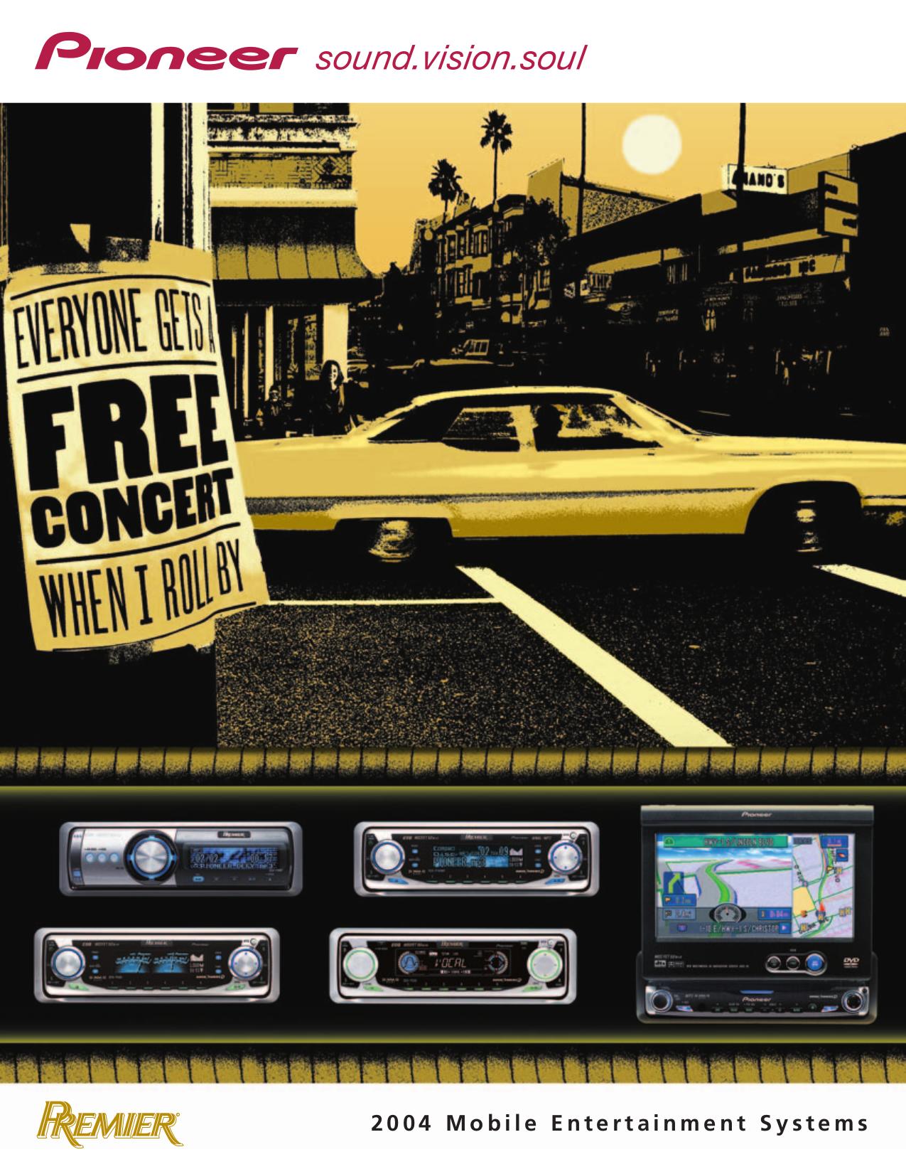 download free pdf for pioneer deh p760mp car receiver manual rh umlib com Car Stereo User Manual Pioneer AVH Car Stereo User Manual Pioneer AVH P3 3