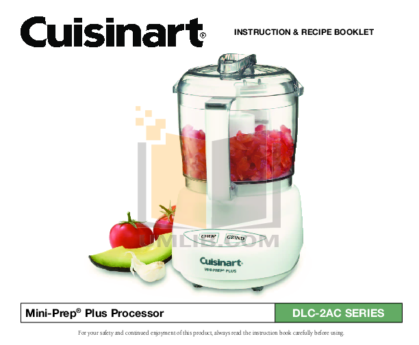 Download free pdf for cuisinart dlc 5 food processor manual pdf for cuisinart food processor dlc 5 manual forumfinder Choice Image