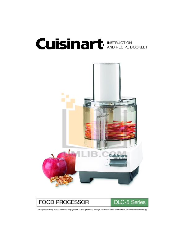 Download free pdf for cuisinart dlc 5 food processor manual pdf for cuisinart food processor dlc 5 manual forumfinder Image collections