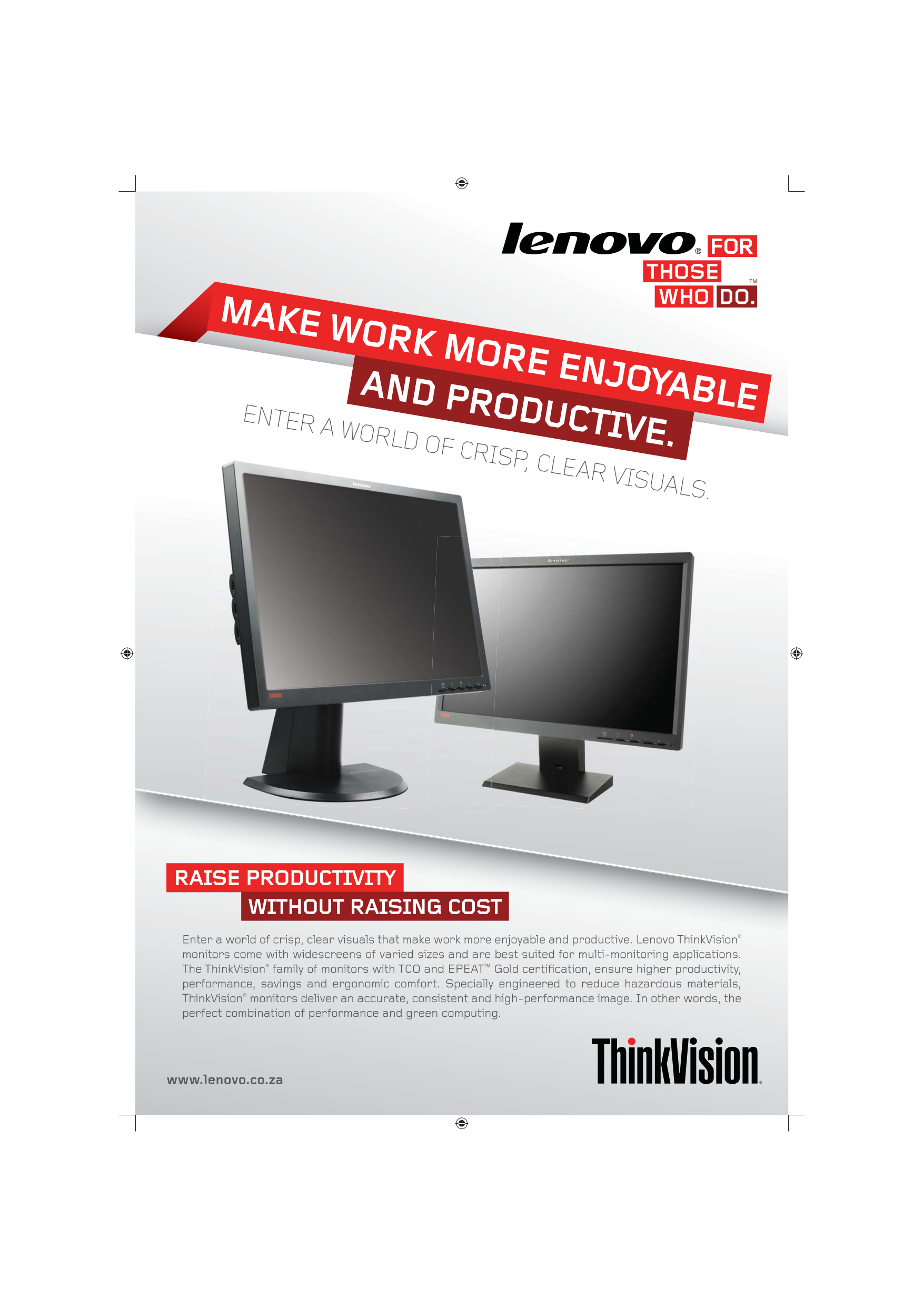download free pdf for lenovo thinkvision l2251x monitor manual rh umlib com ThinkVision Lenovo 32 Inch Lenovo ThinkVision Wireless