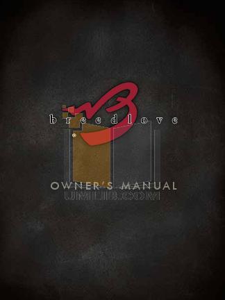 pdf for Breedlove Guitar Revival 000-R Deluxe manual