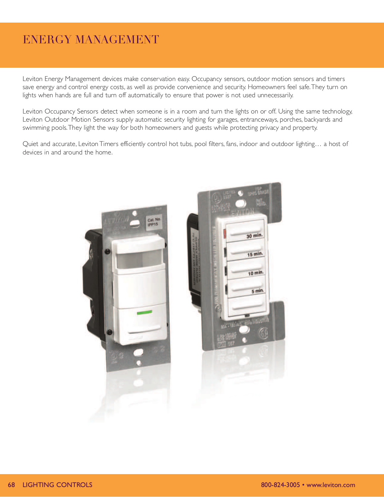 Download free pdf for Leviton 6124H Timer Switch Other manual