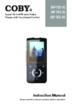 download free pdf for coby mp 725 16gb mp3 player manual rh umlib com Coby MP3 Player Support USB coby mp3 player instruction manual