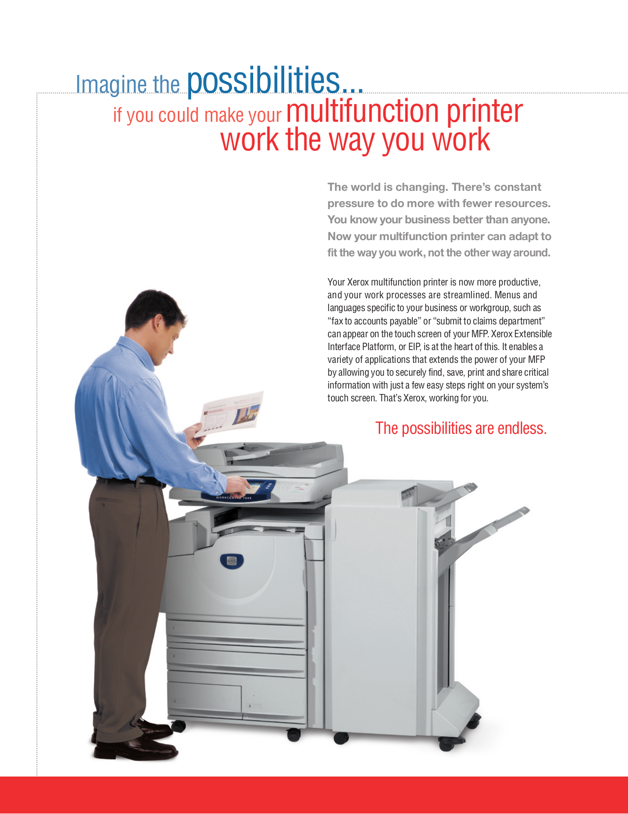 ... Xerox Multifunction Printer WorkCentre 7345 pdf page preview ...