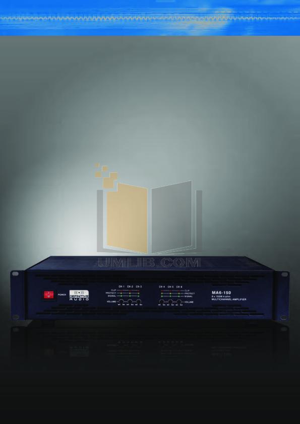 PDF manual for Cerwin-Vega Amp CV-2800