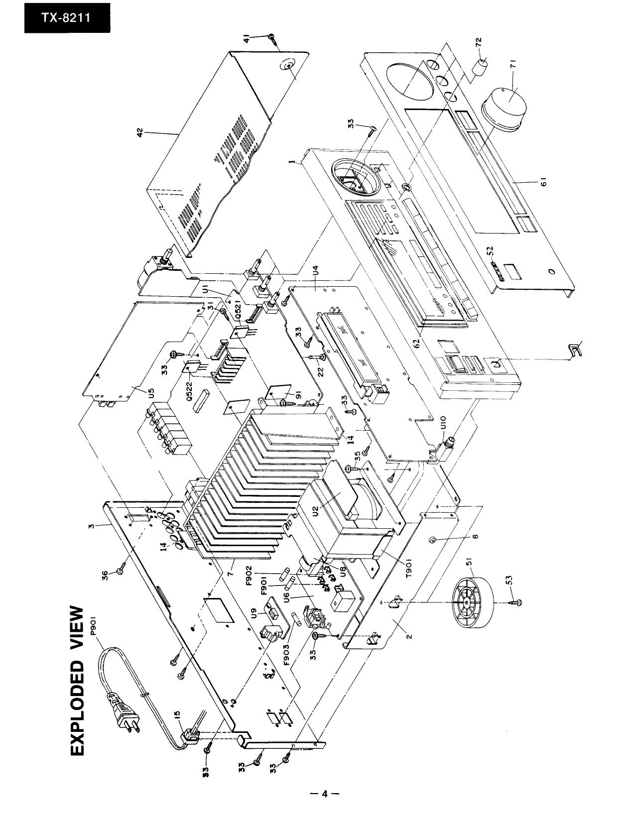 onkyo tx 8211 service manual