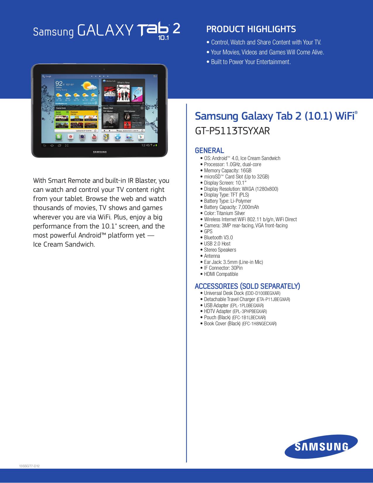 Samsung galaxy tab 4 10. 1 16gb sm-t530 tablet download instruction.
