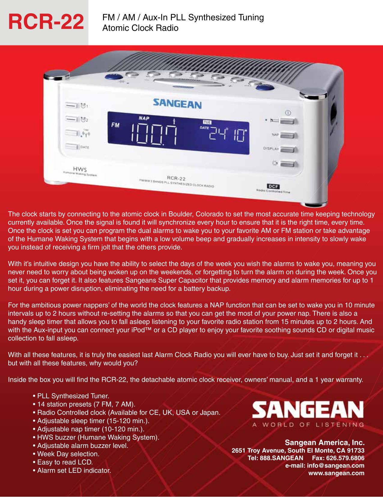 sangean rcr 22 manual user guide manual that easy to read u2022 rh sibere co