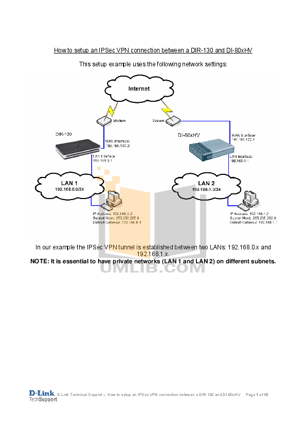 Download free pdf for d-link dir-130 router manual.