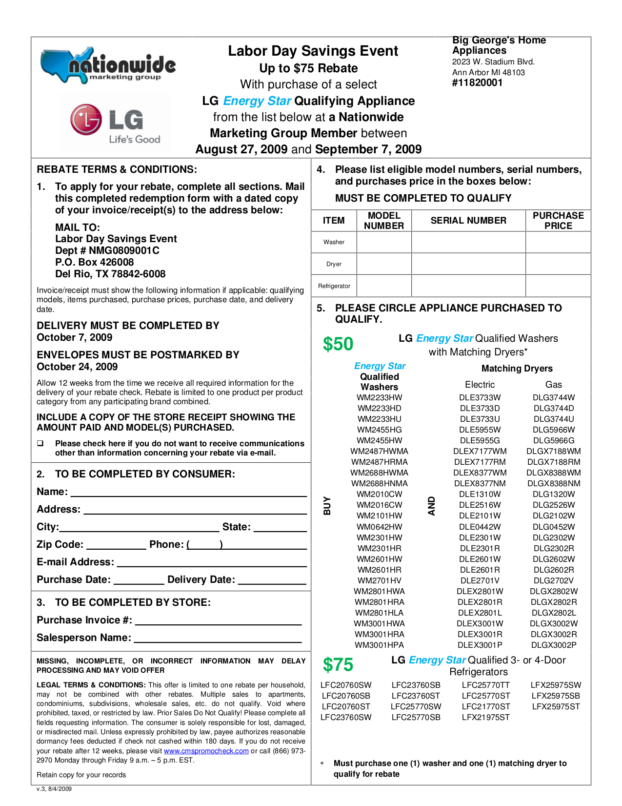 pdf for LG Refrigerator LFC25770TT manual