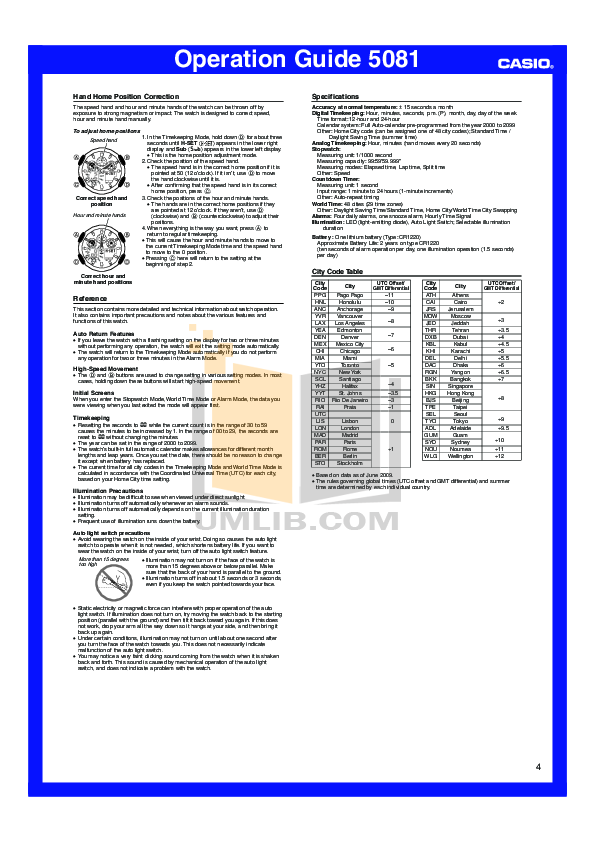pdf manual for casio watch ga100 1a1 rh umlib com G-Shock Shock Resist G-Shock 3230 Manual