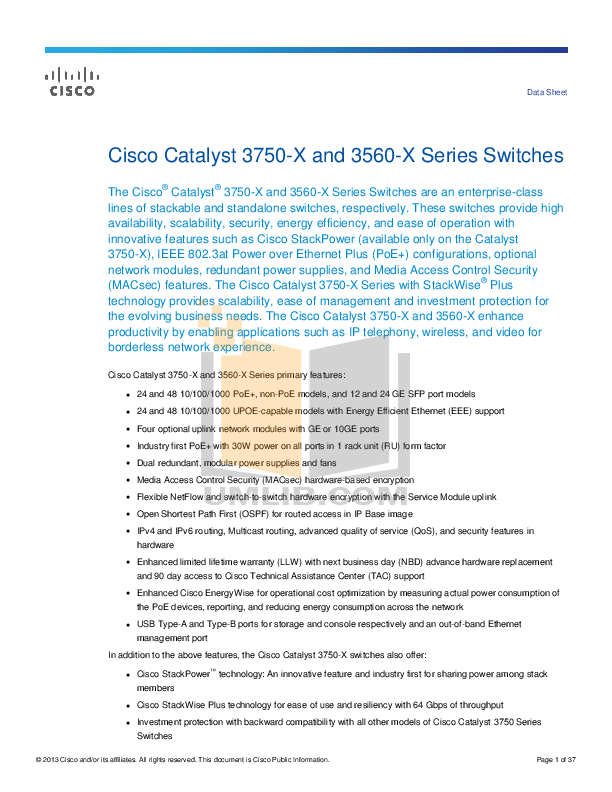 configuration de switch cisco pdf