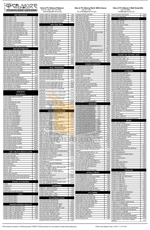 pdf for Asus Monitor VH197D manual