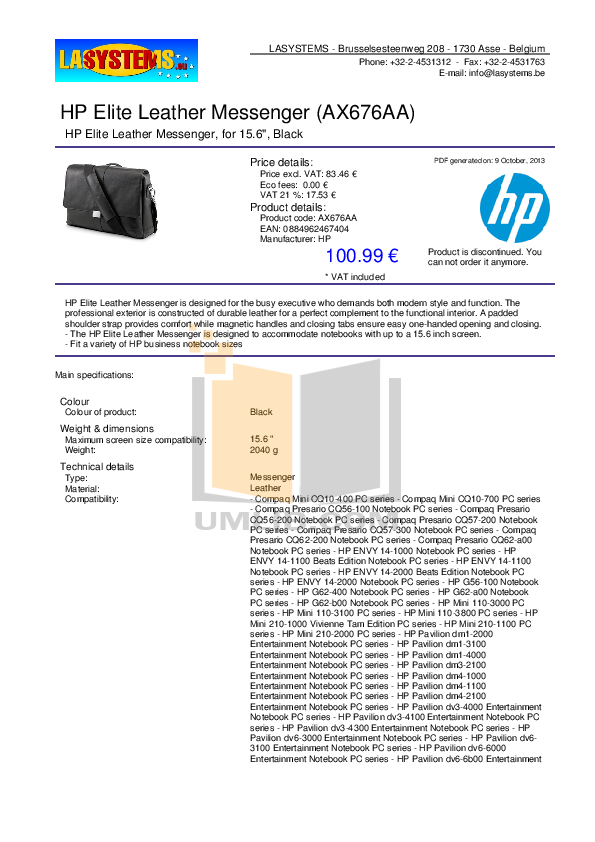 pdf for HP Laptop Compaq Presario,Presario CQ62-200 manual