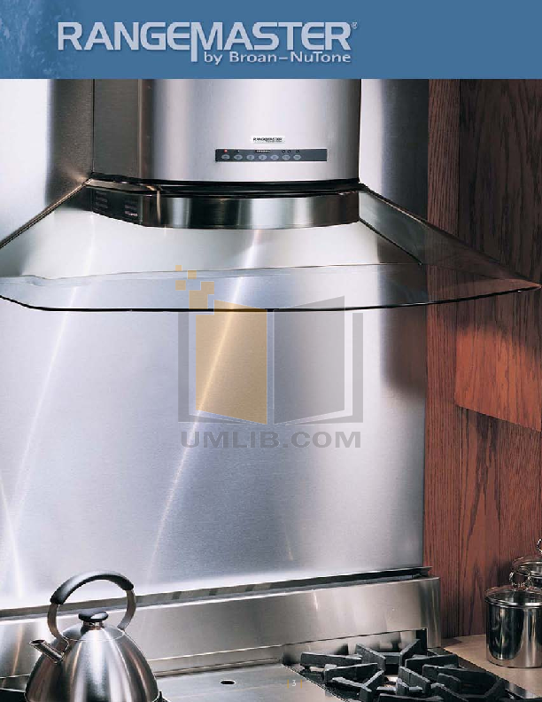 Broan-NuTone Other 64000 Series 644202 Hoods pdf page preview