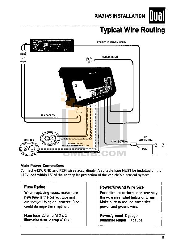 Pdf manual for dual car amplifier xia3145 keyboard keysfo Gallery