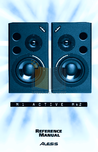 pdf for Alesis Speaker M1ACTIVEMK2 manual