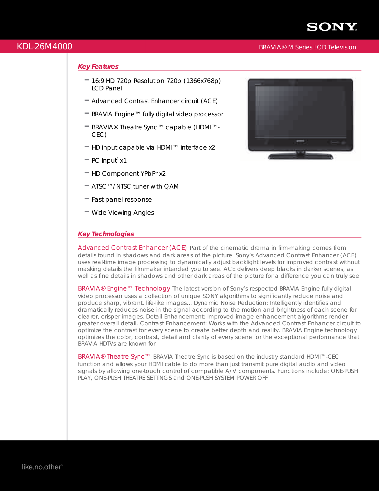 sony bravia kdl 46ex500 manual pdf