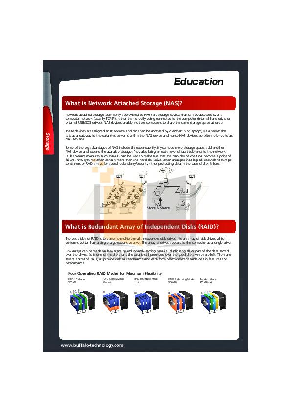 Buffalo Storage HD-HC160U2 pdf page preview