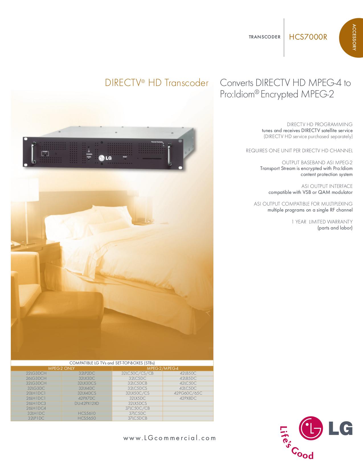 pdf for LG TV 37LC5DCB manual
