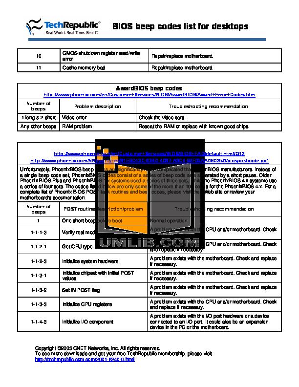 PDF manual for Dell Desktop XPS 8300