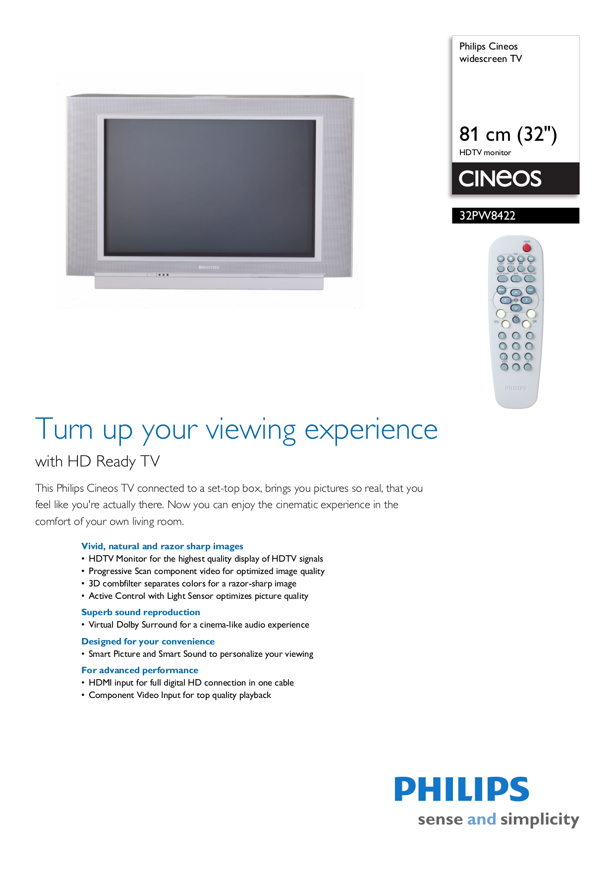 download free pdf for philips 32pw8422 tv manual rh umlib com philips cineos hts9800w user manual Philips Remote Manual