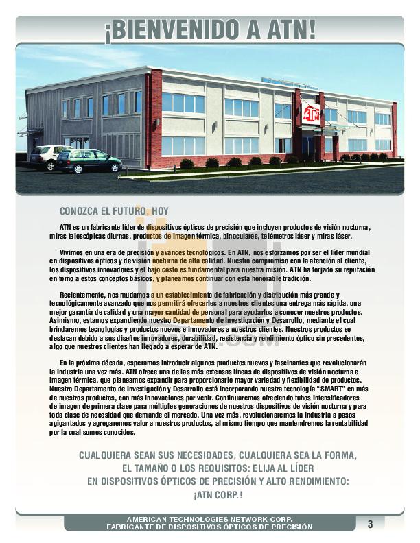 Atn Binocular Omega 7X30RF pdf page preview