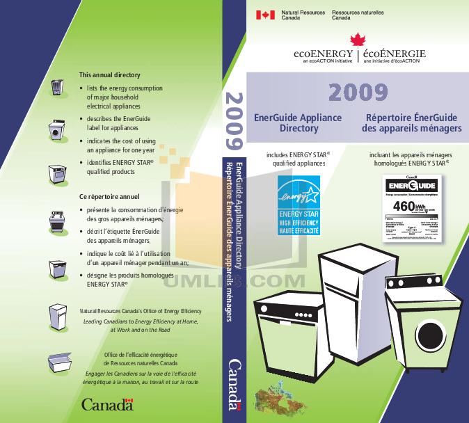 Estate Refrigerator TT14DKXK pdf page preview