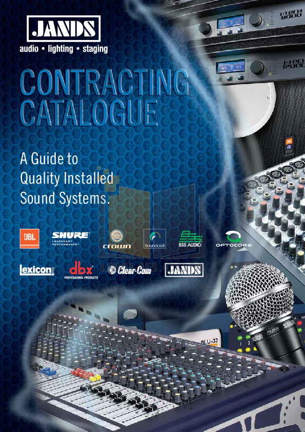 pdf for Crown Other 135MA Mixer-Amplifier-Combo manual