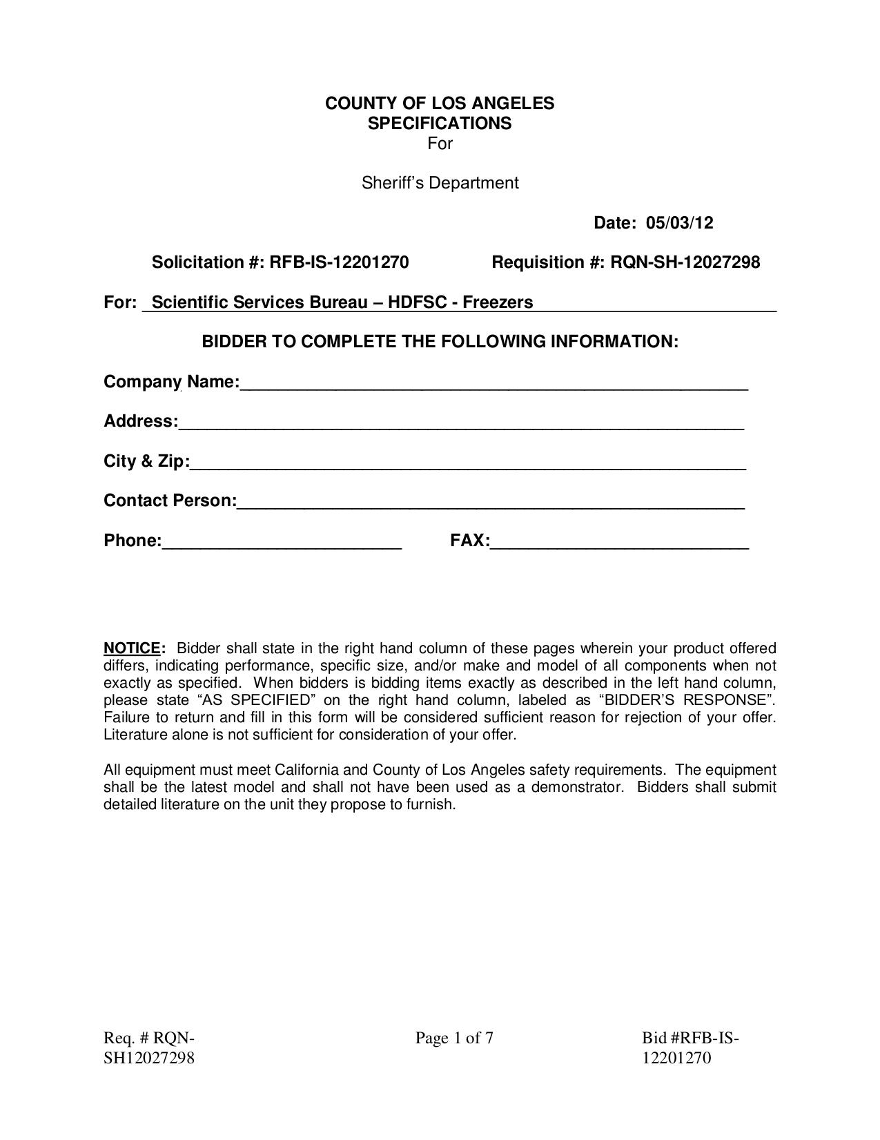 pdf for Victory Freezer RFS-1D-S7-EW manual