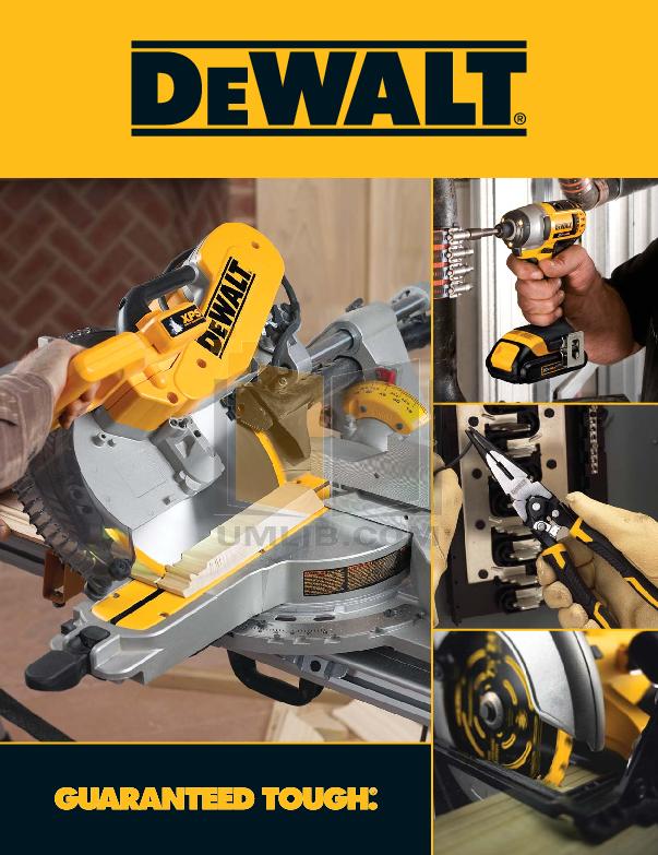 pdf for Dewalt Vacuum DC500 manual