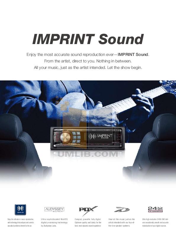 PDF manual for Alpine Car Receiver CDE-9881