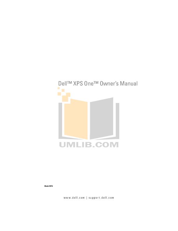 download free pdf for dell xps 600 desktop manual rh umlib com Dell XPS 600 Motherboard Dell Dimension XPS WHL