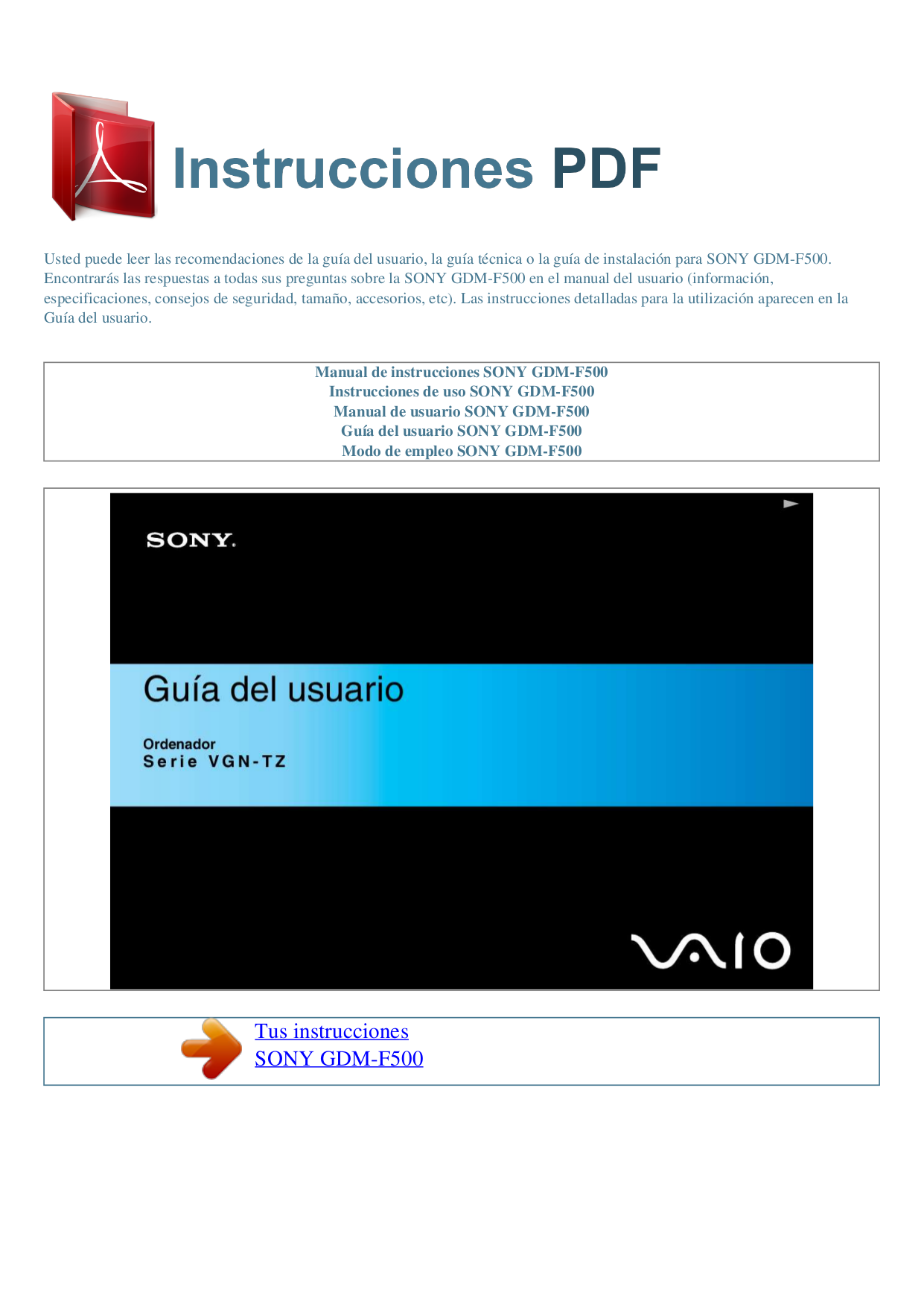 Sony f500 user manual | 76 pages | also for: bdv-f700.