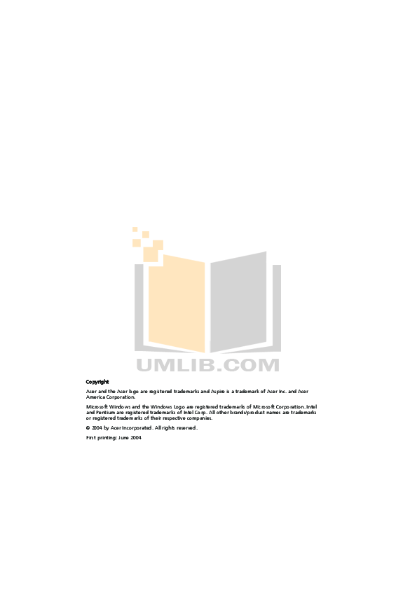 pdf for Acer Desktop Aspire RC950 manual