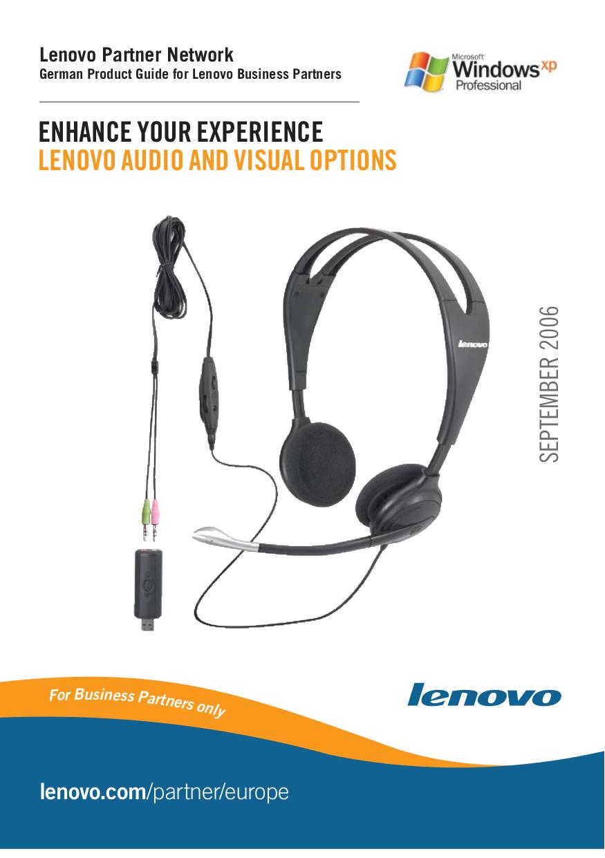pdf for Lenovo Desktop ThinkCentre A52 8160 manual