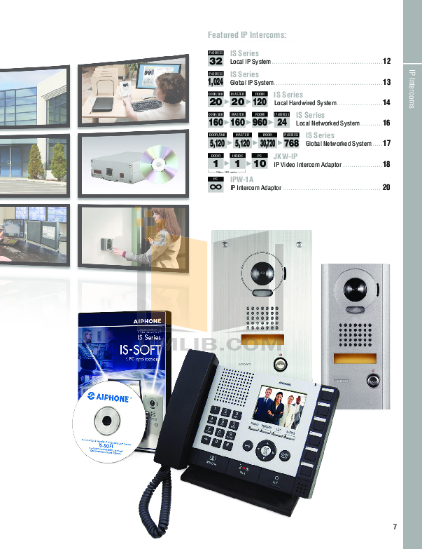Aiphone Other AH-16TN Intercoms-Accessory pdf page preview