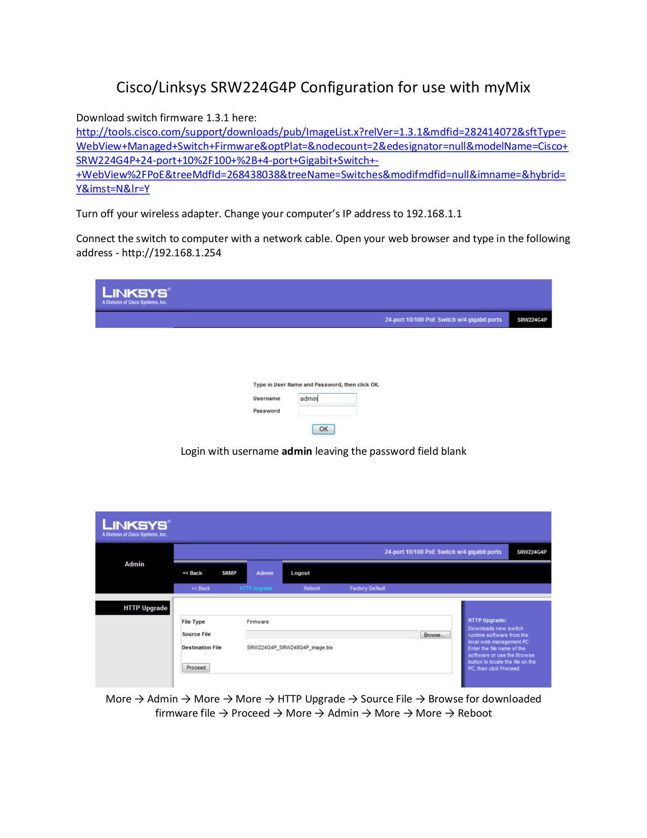 Download free pdf for Linksys SRW224G4P Switch manual