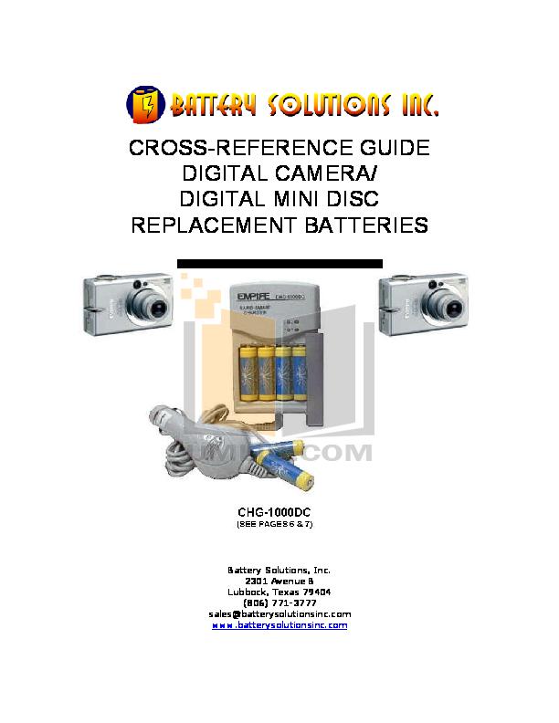 pdf for Canon Digital Camera IXUS IIs manual