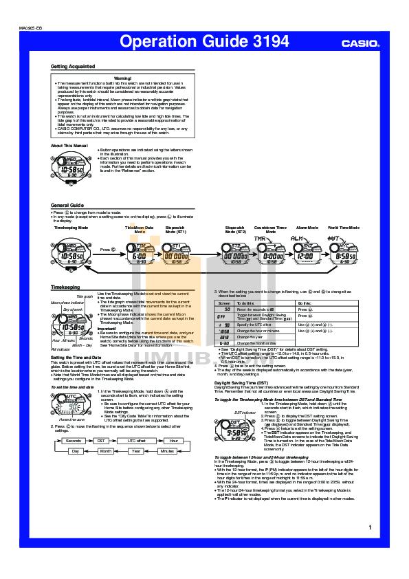 download free pdf for casio g shock g7900a 7 watch manual rh umlib com casio 3194 manual español casio module no 3194 manual